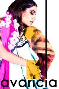 concepto y fotografía: Nicoletta Pontecorvo eyecandy: Adriana Camargo vestido:Regina Carrión Atelier  blazer:Monica Dominguez diseño: Yomtob Achar
